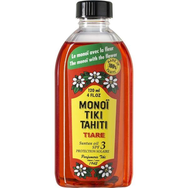 Monoi Tiki Tahiti Tiare Sun Tan Oil SPF3 120ml millionbeautylooks