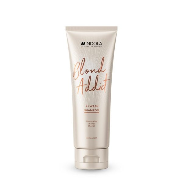 Indola Blond Addict Wash Shampoo 250ml millionbeautylooks