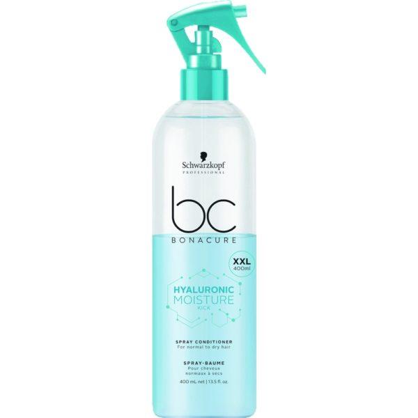 Schwarzkopf BC Hyaluronic Moisture Kick Spray Conditioner 400ml millionbeautylooks