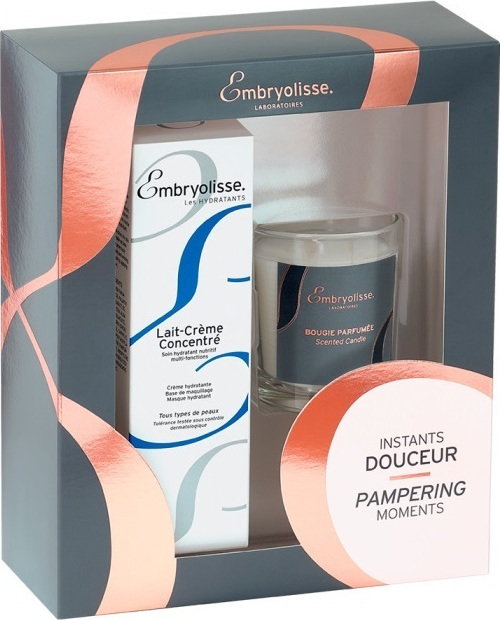 Embryolisse Pampering Moments Lait Creme Concentre 75ml & Scented Candle millionbeautylooks